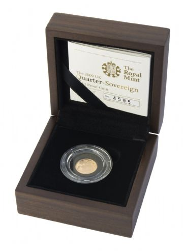 2009 Proof Quarter Sovereign